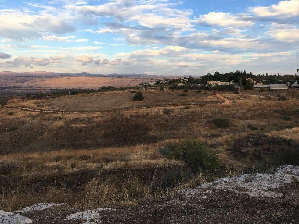 Open fields in northern Israel