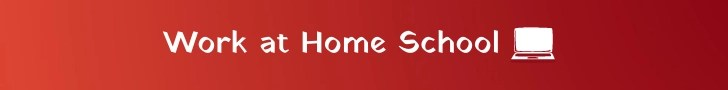 Work at Home School banner created by World of Freelancers