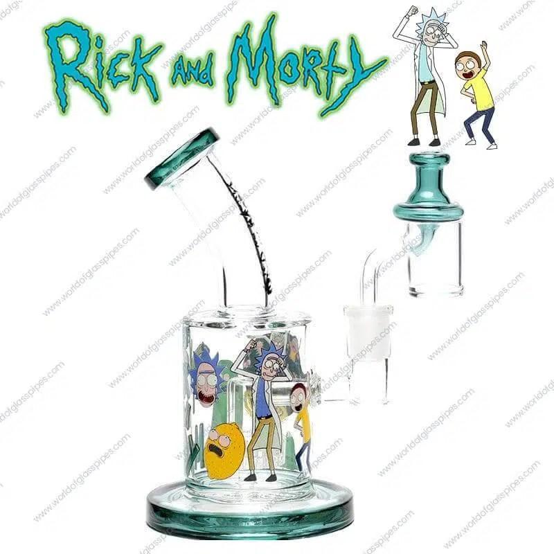 Morty Rick Rig And Dab