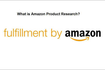 what is amazon product research
