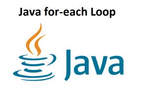 Java for-each Loop