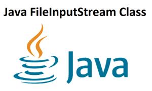 Java FileInputStream Class