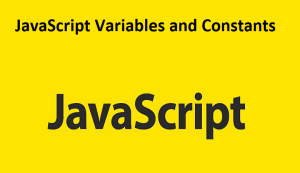 JavaScript Variables and Constants