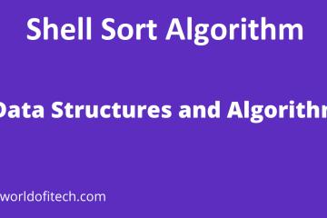 Shell Sort Algorithm