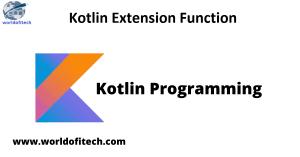 Kotlin Extension Function