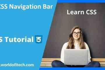 CSS Navigation Bar