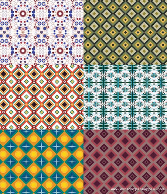 tutorial tile pattern design noa