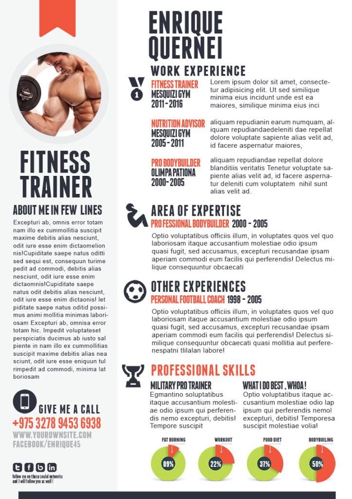Fitness-Trainer-curriculum-vitae-template