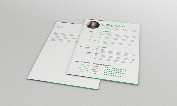 single-page-resume-template-and-cover-letter-full