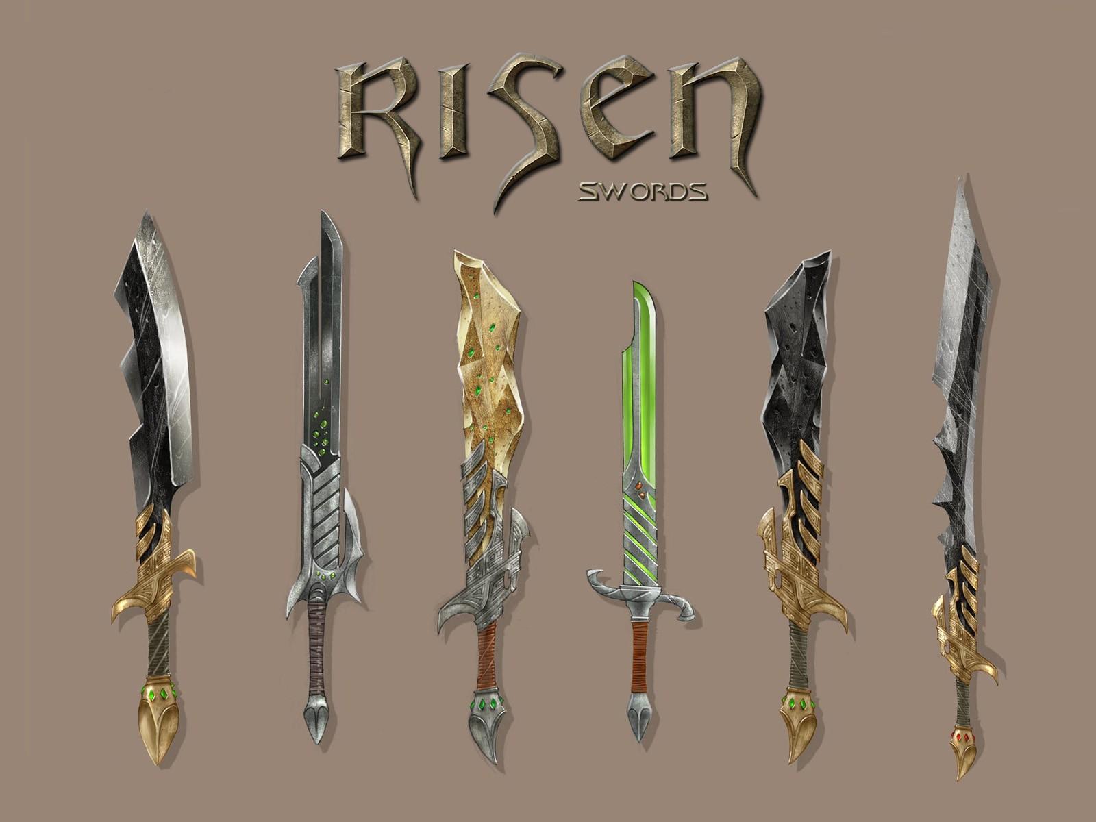 World Of Risen Risen Wallpaper Swords 2590