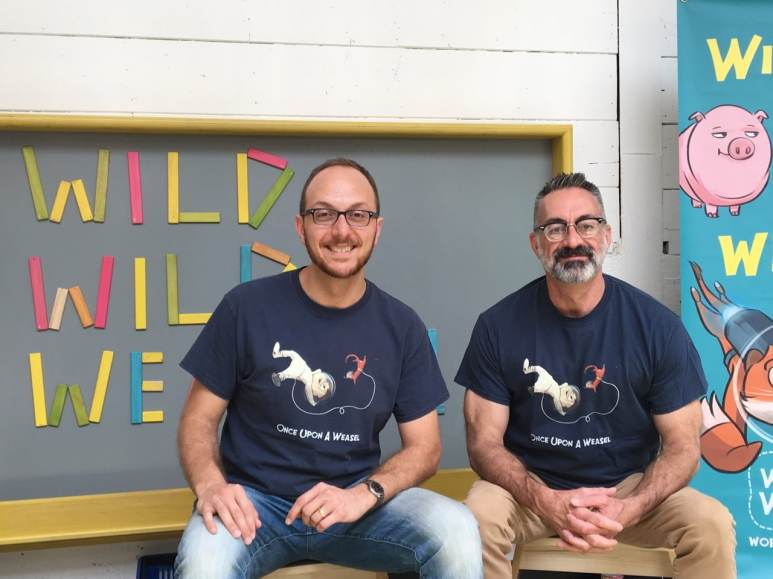 Weasel co-authors Salvo Lavis and James Munn