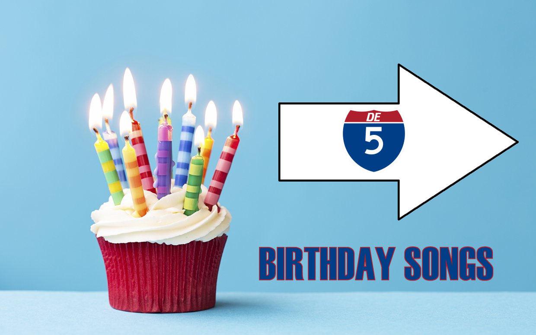 De Top 5 verjaardagsliedjes