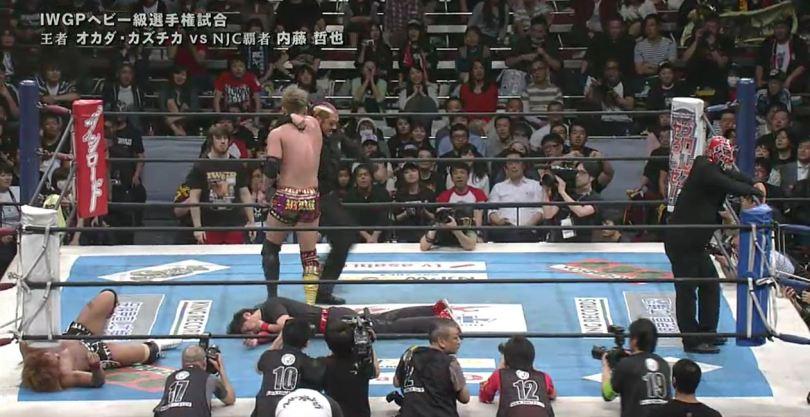 Naito vs Odaka at NJPW invasion attack 2016