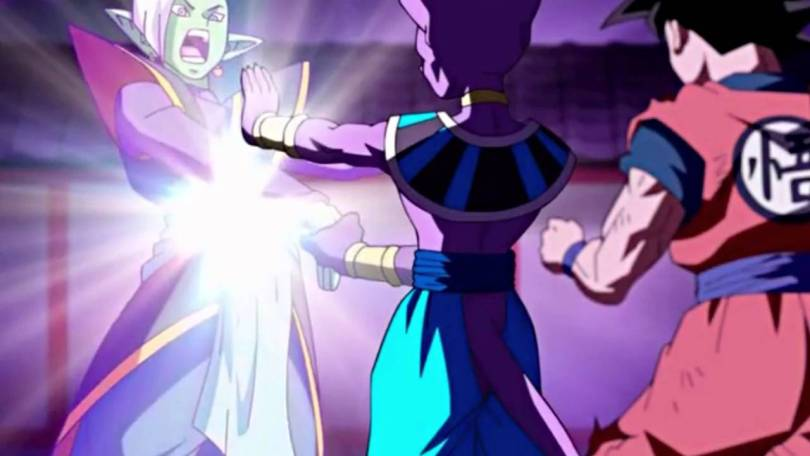 beerus kills zamasu in the timeline using his hakai destroy move ... is zeno zen-oh omniking the strongest being in the universe?