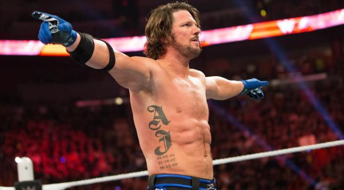 WWE 150 : Smackdown Live 14/02/2016 –  AJ Vs Shane ?