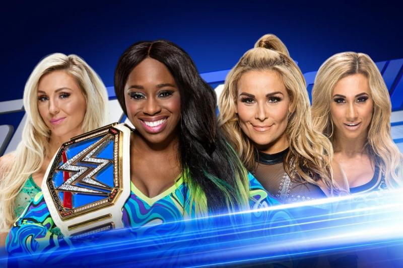 smackdown womans tag match 2nd may 2017