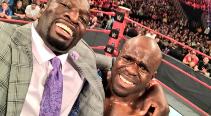 wwe raw may 2017 apollo cruise takes off into the world of being a heel via joining THE TITUS BRAND!