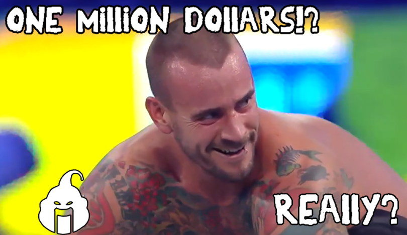 cm punk has been offered one million dollars to wrestle in 5 star wrestling promotion tournament