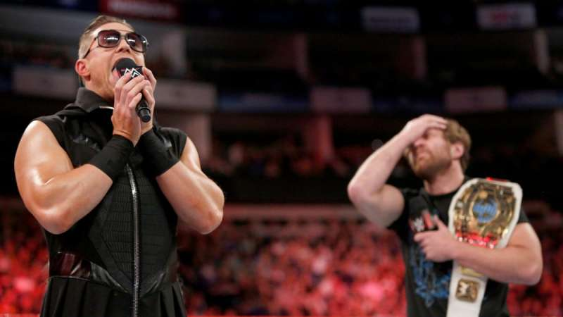 wwe raw 8th may 2017 review he is the miz and he is awesome dean facepalm in background