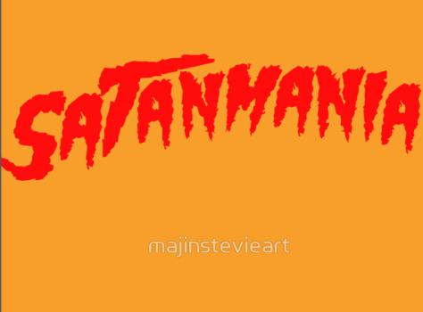 _Satanmania Runnin' Wild!_ Classic T-Shirts by majinstevieart _ Redbubble