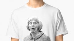 majin stevies - F is for Fail , A Theresa May Satire shirt