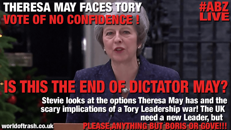 Conservatives call vote of no conficence against Theresa May leadership Tories fail at brexit