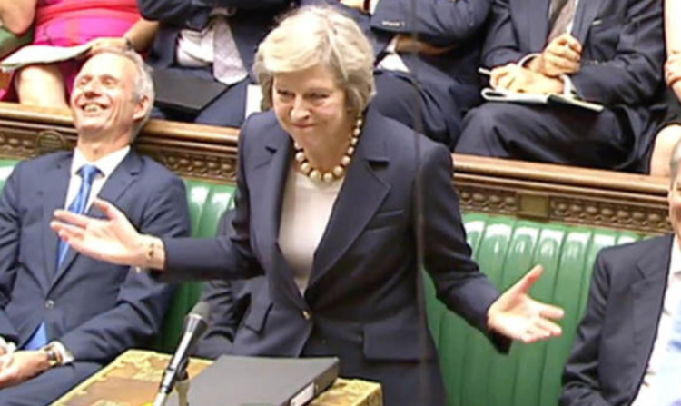 Theresa May told Scottish MP's that she had been working directly with the scottish government on Brexit December 17 2018