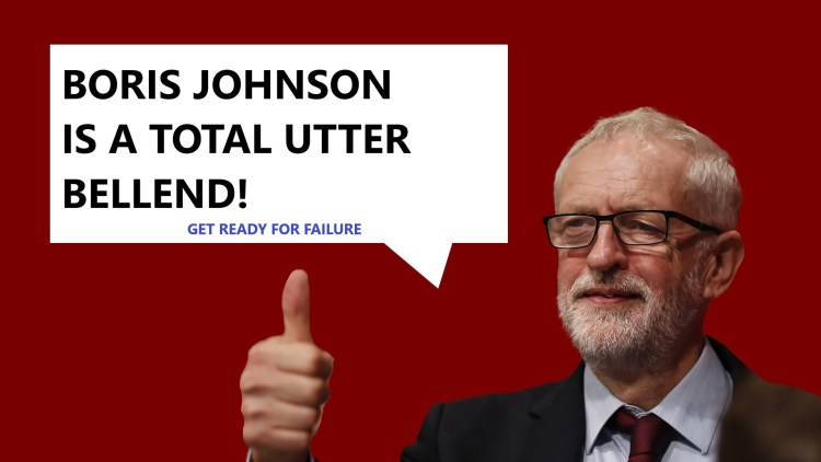 Boris is a bellend