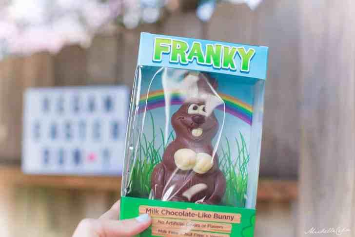 Vegan Chocolate Easter Bunny | World of Vegan Easter Guide | WorldofVegan.com #easter #vegan