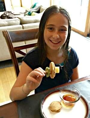 Vegan Pancake Kebabs