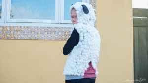 mulesed lamb animal rights halloween costume