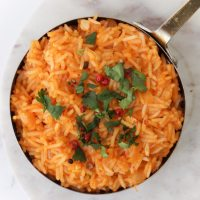 Vegan Mexican Red Rice Recipe