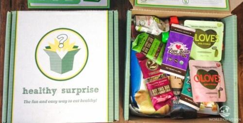 healthy surprise vegan subscription box