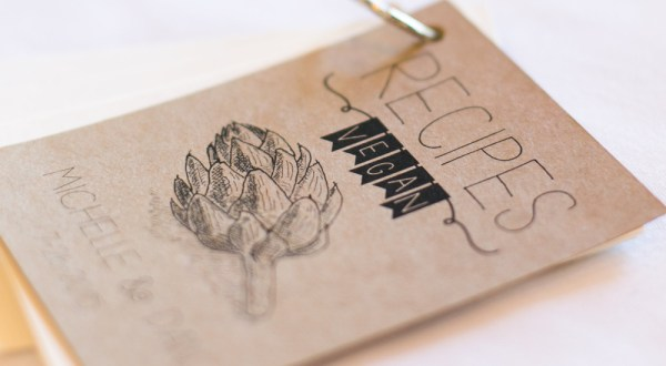 vegan wedding recipe book