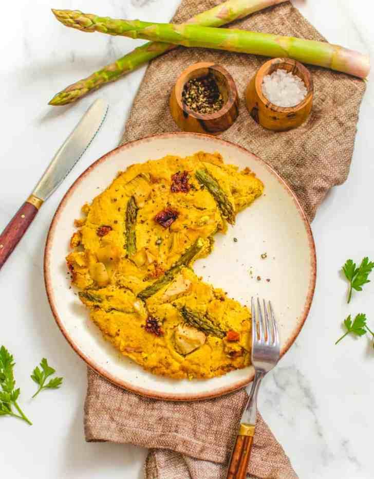How To Make Vegan Frittata Photo