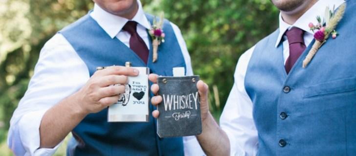 Cheersing Vegan Drinks at Wedding