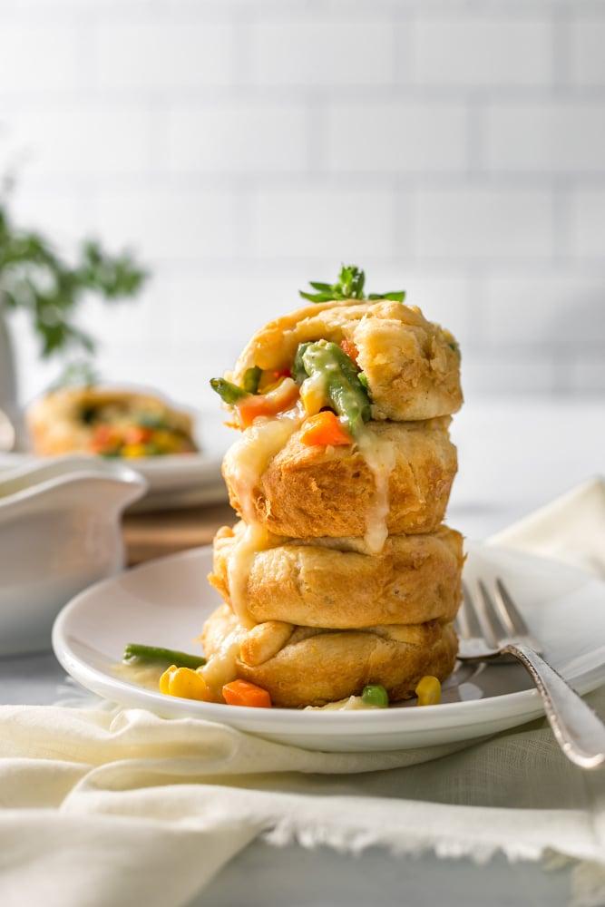 Easy Vegan Mini Pot Pies Recipe