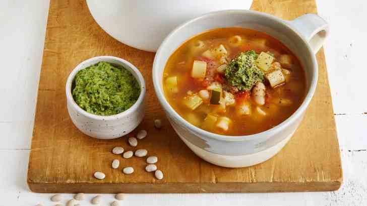 Vegan French Pistou Soup Recipe