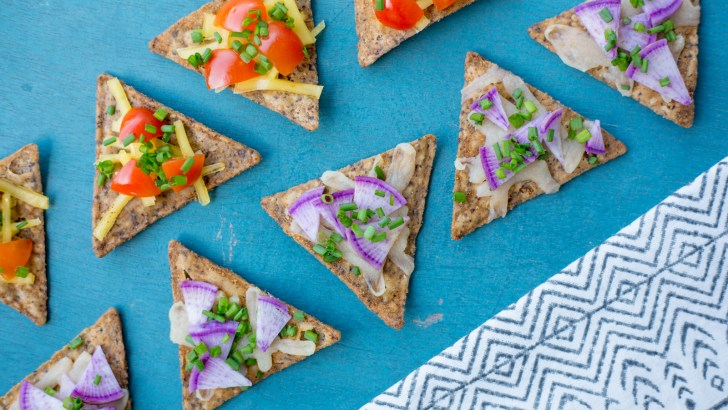 Crunchy Vegan Pizza Bites—Made With Chips!