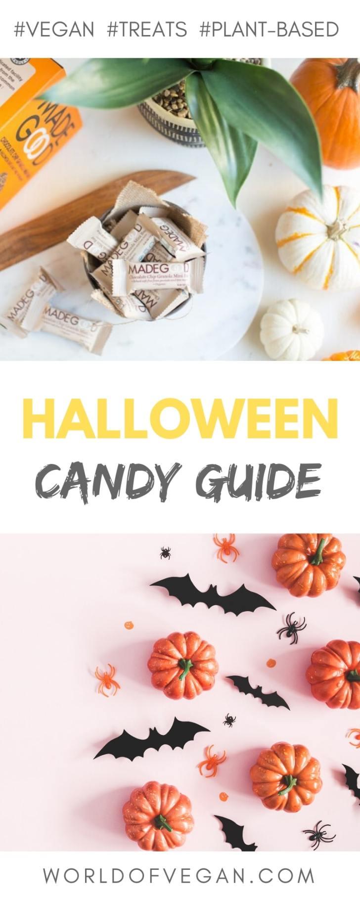 Vegan Halloween Candy Guide | World of Vegan | #vegan #candy #halloween #treats #wolrdofvegan
