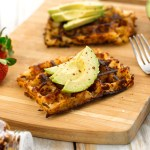Hash Brown Waffles | Easy Vegan Breakfast | WorldofVegan.com | #vegan #breakfast #recipe #potatoes