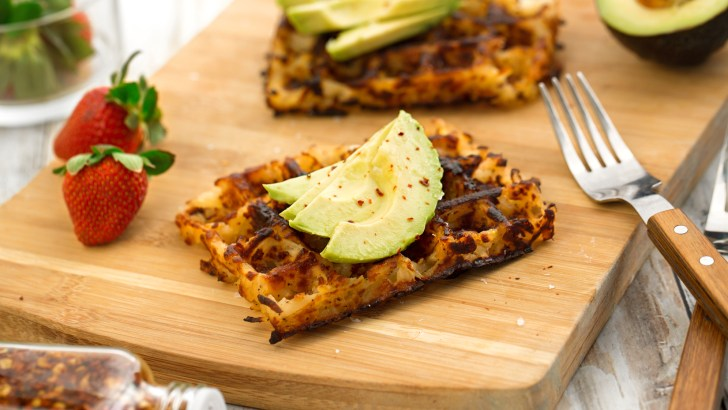 Level-Up Your Breakfast Game With Vegan Hash Brown Waffles