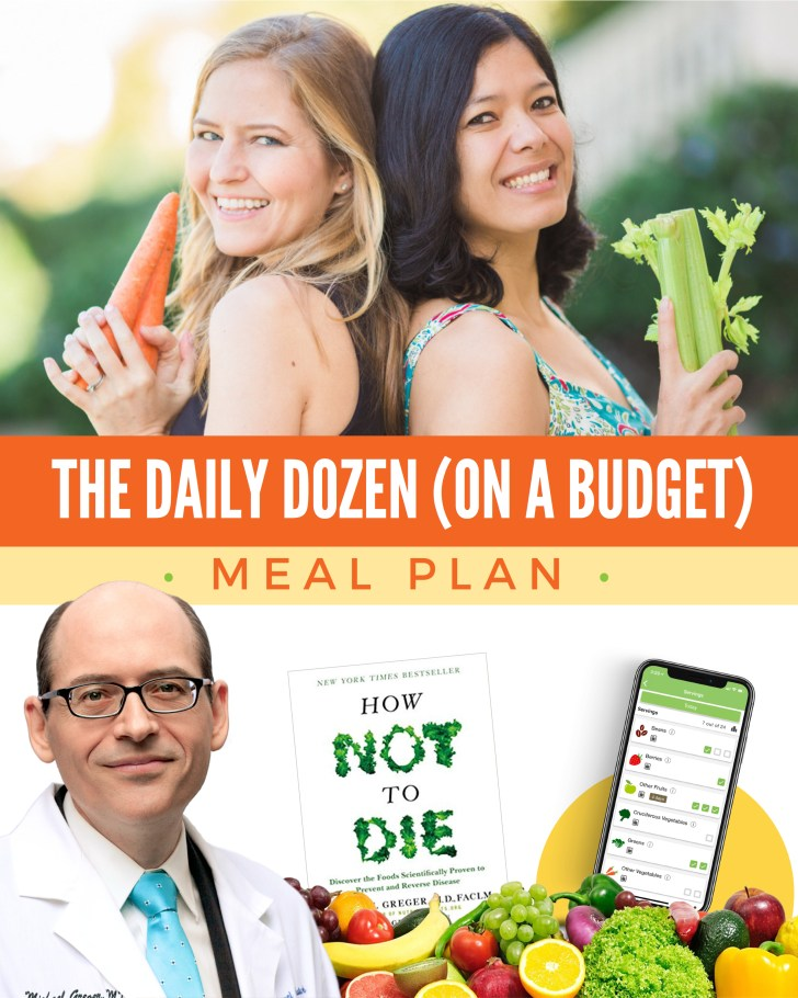 How Not to Die Meal Plan   Dr. Greger's Daily Dozen   Plant-Based Meal Plan