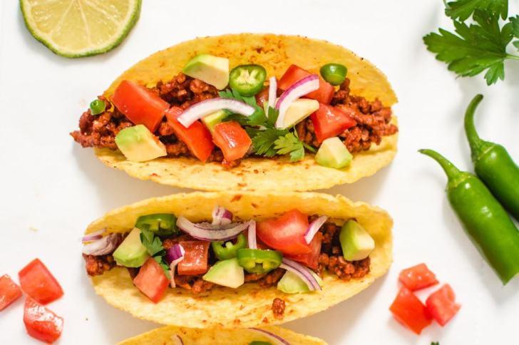 Beefy Lover's Vegan Tacos | World of Vegan | #tacos #vegan #mexican #healthy #lunch #recipe #worldofvegan