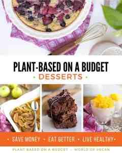 Vegan Desserts Cookbook