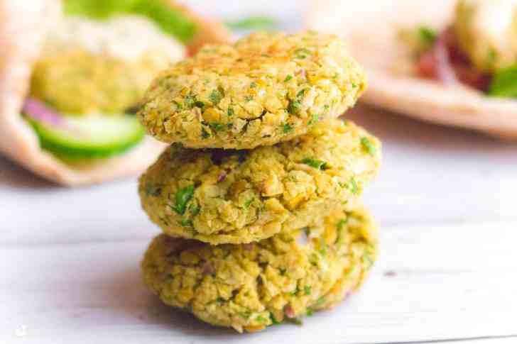 Healthy Baked Falafel   World of Vegan