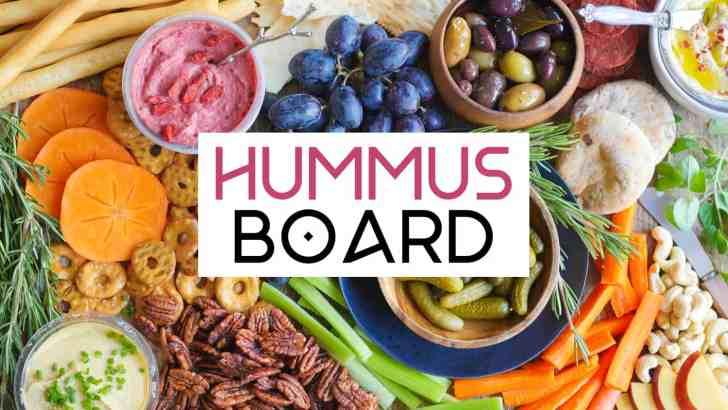 DIY Vegan Hummus Board   World of Vegan