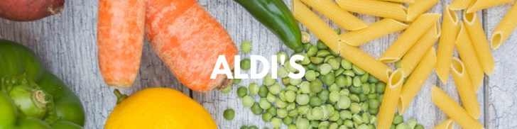 Vegan at Aldi's | Grocery Shopping Guide | WorldofVegan.com | #vegan #aldis #haul #guide #grocery