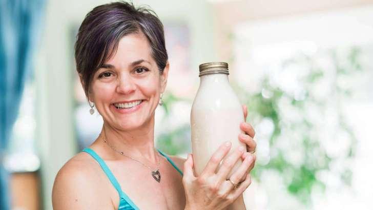 10 Ways to Be More Eco-Friendly   DIY Nut Milk   WorldofVegan.com #vegan #eco #sustainable #green #milk