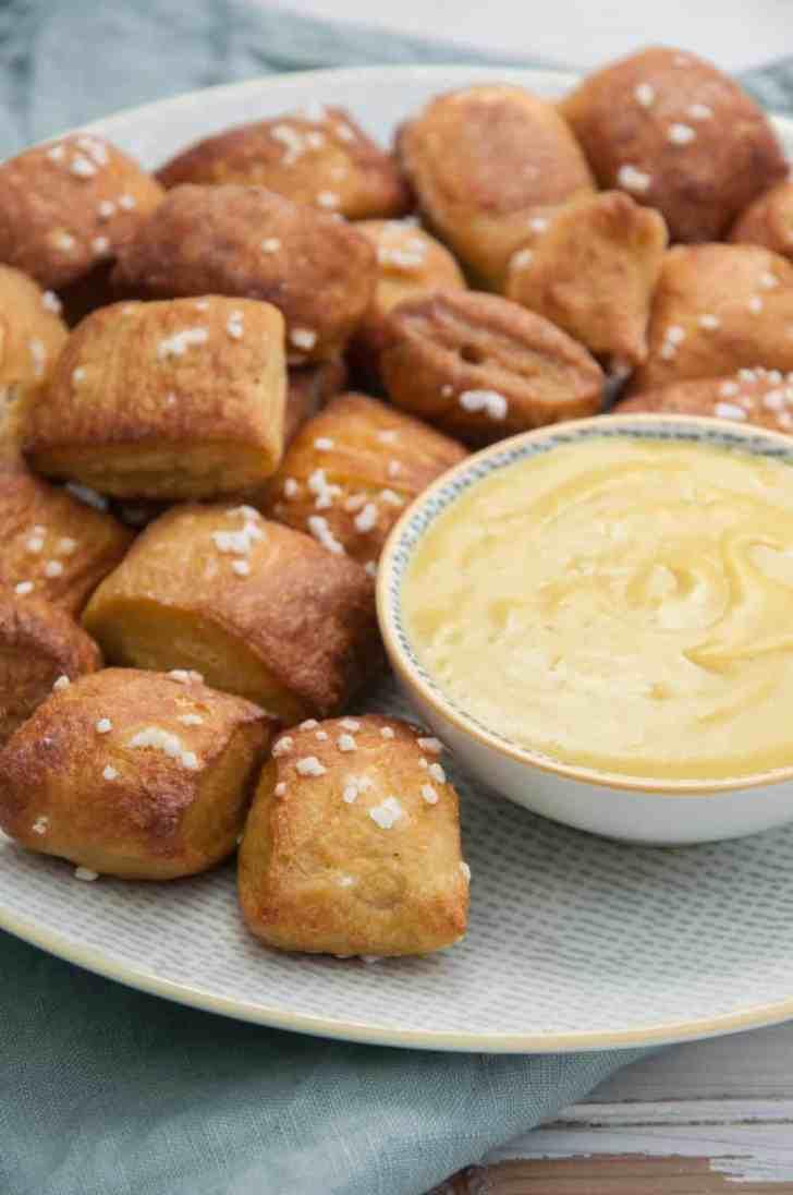 Vegan Soft Pretzels   Cravings Made Vegan Cookbook   WorldofVegan.com   #pretzels #cravings #cookbook #softpretzel